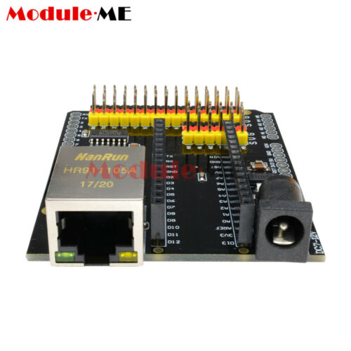 ENC28J60 Ethernet Network Module Shield V2.0 CH340 Nano V3.0 For Arduino UNO R3