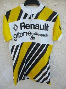 Maillot-RENAULT-GITANE-CAMPAGNOLO-vintage-1978-HINAULT-shirt-trikot-maglia-M