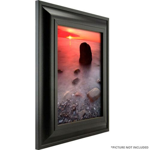 "2/"" Satin Black Picture Frame 10/"" 11/"" 12/"" Craig Frames Contemporary Upscale"