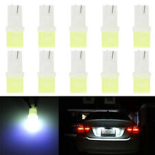 10Pcs W5W 168 194 T10 COB Car Motor LED License Plate Light Width Lamp Bulb