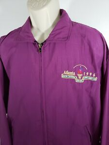 Vintage-Atlanta-Olympics-1996-Zip-up-Purple-Size-Medium-2213