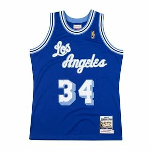 Mens Mitchell & Ness NBA Authentic Jersey 96 Los Angeles Lakers ...
