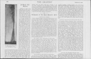 1901Antique-Print-AMERICA-Texas-Port-Arthur-Oil-Gusher-Spout-24