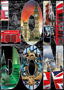 PUZZLE-1000-PIEZAS-TEILE-PIECES-LONDON-COLLAGE-DE-LONDRES-EDUCA-16786