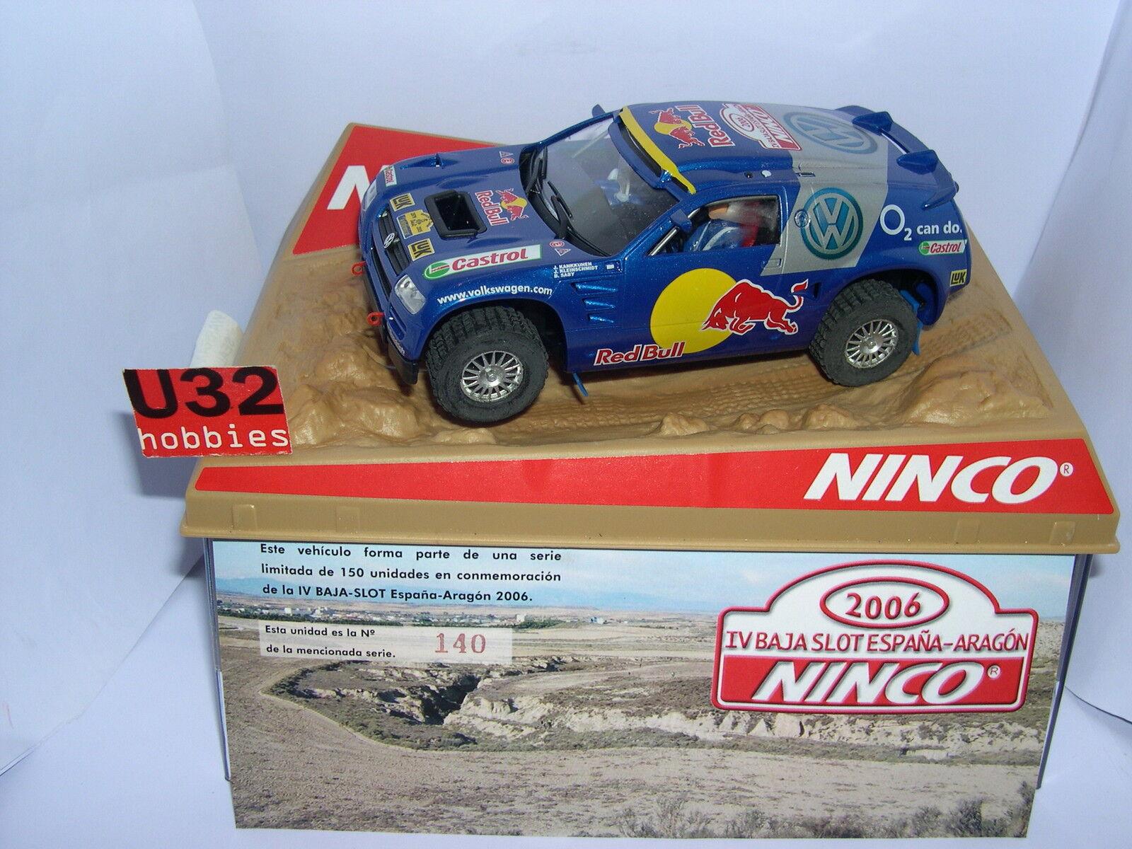 Ninco Voiture Touareg Vw Basse Slot Volkswagen 2006 150units Aragon H29eWEDIYb