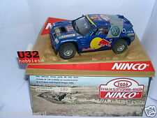 NINCO SLOT CAR VOLKSWAGEN VW TOUAREG BASSA ARAGON 2006 150UNITS LIMIT.ED MB