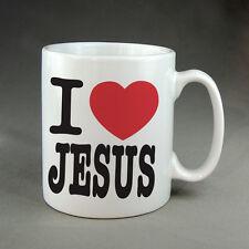 I LOVE JESUS MUG - COFFEE TEA