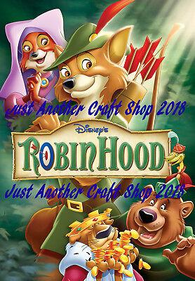 Walt Disney Robin Hood 1973 Movie Poster A3 Large Size ...