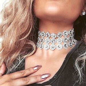 Sparkly Choker Necklace Ebay