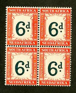 South-Africa-Stamps-J28-VF-OG-NH-Block-Of-4