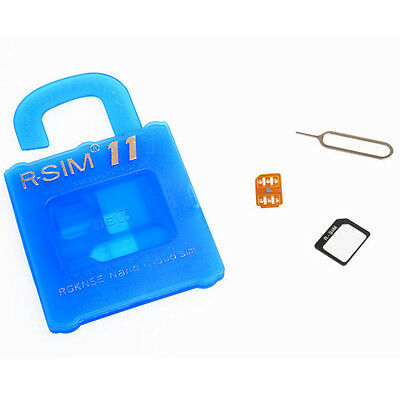R-SIM11 General Nano Cloud Unlock Card For iPhone 7&7P&6S&6 IOS10.X$9.X&8.X&7.X