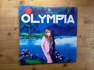 Austra-Olympia-Near-Mint-2-x-PINK-Vinyl-Record-WIGLP314-amp-Poster-etc-Ltd-Edition