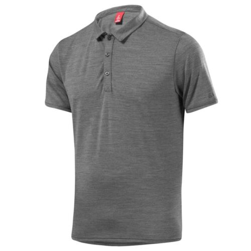 Löffler POLO Merino Fonction Shirt gris