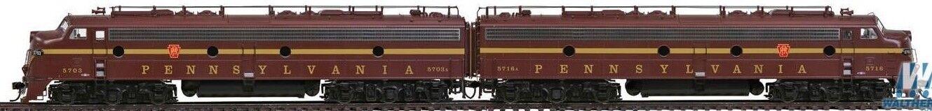 Walthers Prossoo 42350 de Broadway Ltd E8 a un loco Set DCC y Sonido  5716 Nuevo En Caja