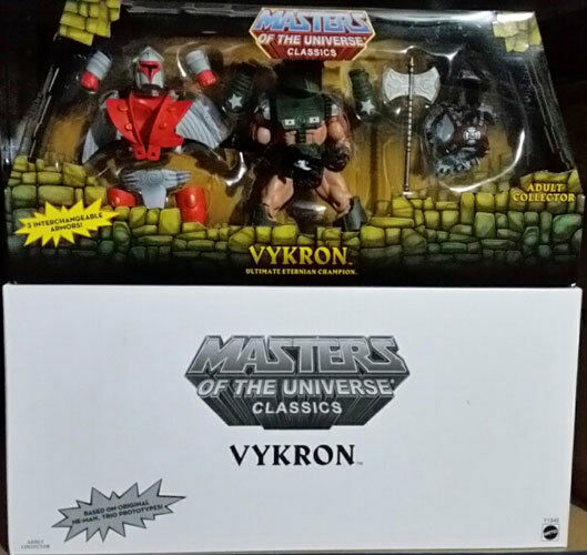 Masters of the Universe Classics 2012 SDCC Exclusive Vykron - Brand New