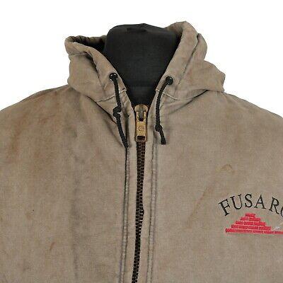Carhartt à Capuche corvée Veste | Workwear work Wear Sweat à capuche toile canard vintage | eBay
