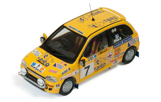 Subaru vivio   7 sieger klasse safari - rallye 1993, s. njiru   r. mathews 1 43 modell