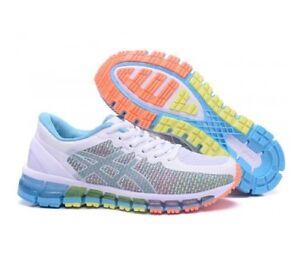 Asics Gel-Quantum 360 CM Women s Running Shoes NIB White Snow Coral ... 766cc4b50
