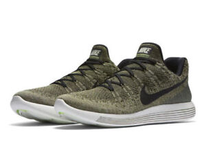 3d6798b97c3f Nike LunarEpic Low Flyknit 2 Men Running Train Shoe Rough Green ...