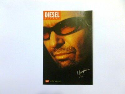 Adesivo VASCO ROSSI Pubblicitario Occhiali Diesel