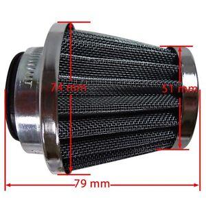 38MM-AIR-FILTER-POD-CLEANER-50-90cc-110cc-125cc-150cc-DIRT-ATV-QUAD-PIT-PRO-BIKE