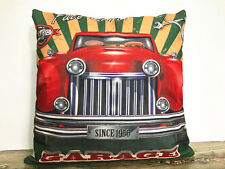 1x Simple painting car Gift Home Decor sofa Cushion Covers Pillow Case 18X18''