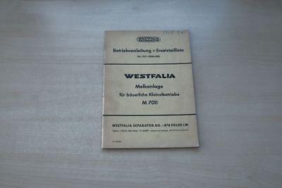 193128) Westfalia Separator Melkanlage Ersatzteilliste Handbuch 06/1964 Taille Und Sehnen StäRken