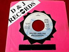 DON HARRISON~HELTER SKELTER~ BEATLES~ MEGA RARE~ PROMO~ NEAR MINT~ ~ ROCK  45