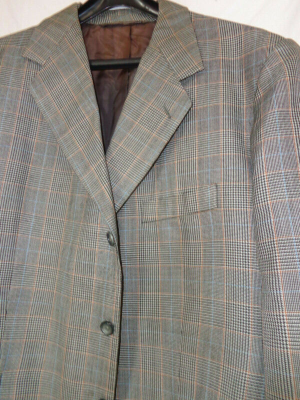 2-teiler,anzug, Jacket U. Hose, Gr. Ca. 48/50 Kurz, Maße Lesen, Walter Kleinsory