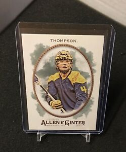 Lyle Thompson 2017 Topps Allen & Ginter card 250 Lacrosse Player