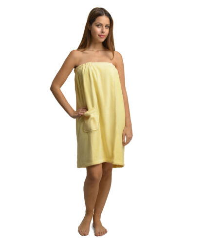 Größe 75 x 85-145 cm Damen Saunakilt Saunatuch Handtuch Wellness Baumwolle