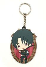 Seraph of the End Mascot Circle PVC Strap Keychain Charm ~ Guren Ichinose STE02