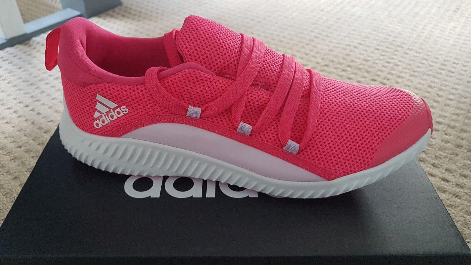 Adidas Pink Forta run Trainers Size 2 junior