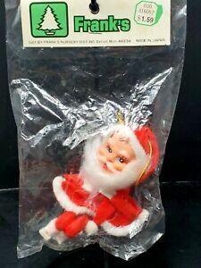 NOS Vintage Santa Knee Hugger Pixie Elf Mid Century Made Japan Mint In Package
