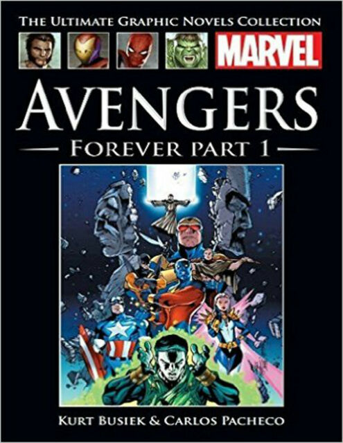 MARVEL ULTIMATE GRAPHIC NOVEL COLLECTION (2016) ISSUE 12 - AVENGERS FOREVER PART