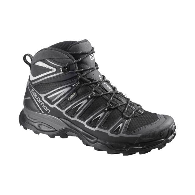 4771e0ed5e9 New Salomon X Ultra Mid 2 GTX Men Trail Black Aluminum Hiking Shoes נעלי  סלומון