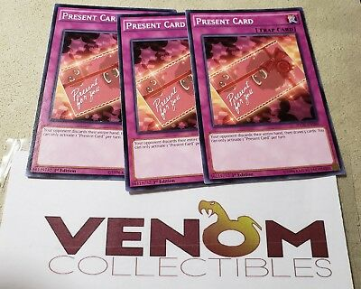 1st Edition Present Card Near Mint INOV-EN080 - Common