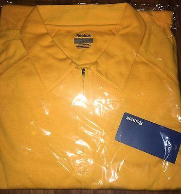 Other Golf Clothing Careful Nwt Men's Reebok Polo Shirt Zip Down Collar Golf