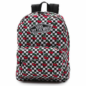 vans backpacks for girls Vans Off The Wall Realm Backpack Cherry Checker Backpack Travel  vans backpacks for girls