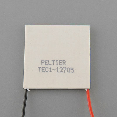 x40mm TEC1-12705 Cooler coolling Thermo Electric Generator Peltier Cooler 1pcs