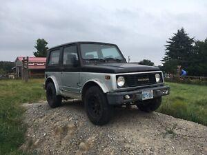 1990 Suzuki samurai x2