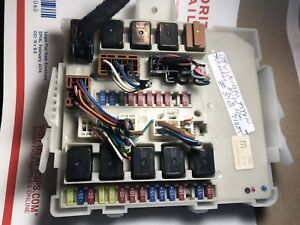 04 07 nissan titan armada body control module fuse box. Black Bedroom Furniture Sets. Home Design Ideas