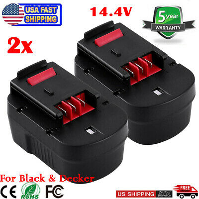 14.4V Battery for Black /& Decker RD1441K,A14F,B-8316,BD1444L,BPT1048,HPB14