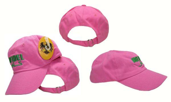 (nuovo) Ricamato Rosa Inifdel Militare Slavato Stile Cappello Caldo E Antivento