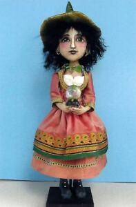 NEW-FOLK-ART-DOLL-PAPER-PATTERN-034-GYPSY-WITCH-034-BY-SUSAN-BARMORE