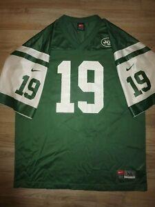 Keyshawn Johnson #19 New York Jets Nike Jersey Mens XL | eBay