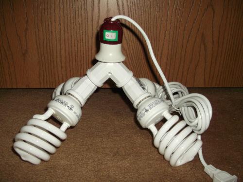 400 WATT CFL BUDGET GROW LIGHT KIT// SET  WITH SOCKET AND CORD