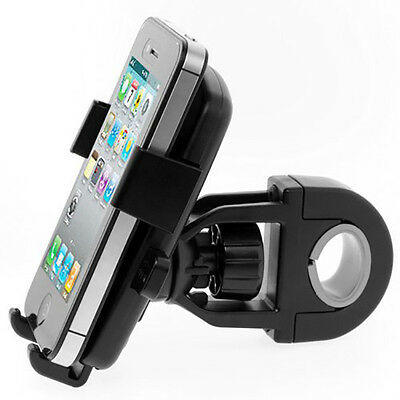 Bike Bicycle 22MM Handlebar Mount Holder For iPhone 6 5 Samsung Cell Phone QQL