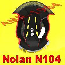 "INTERNO CLIMA COMFORT GREY per NOLAN N104 N104 EVO  TAGLIA "" L "" 00602"