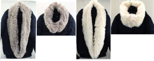 Ladies Womens Winter Luxury Faux Fur Neck Warmer Wrap Snood